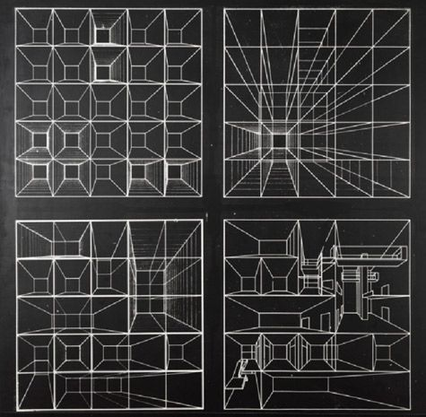 Fitting AbstractionVjenceslav Richter, Synthurbanism Project, 1964