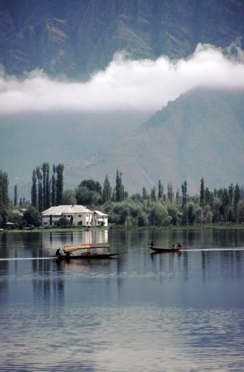 Dal lake in Srinagar
