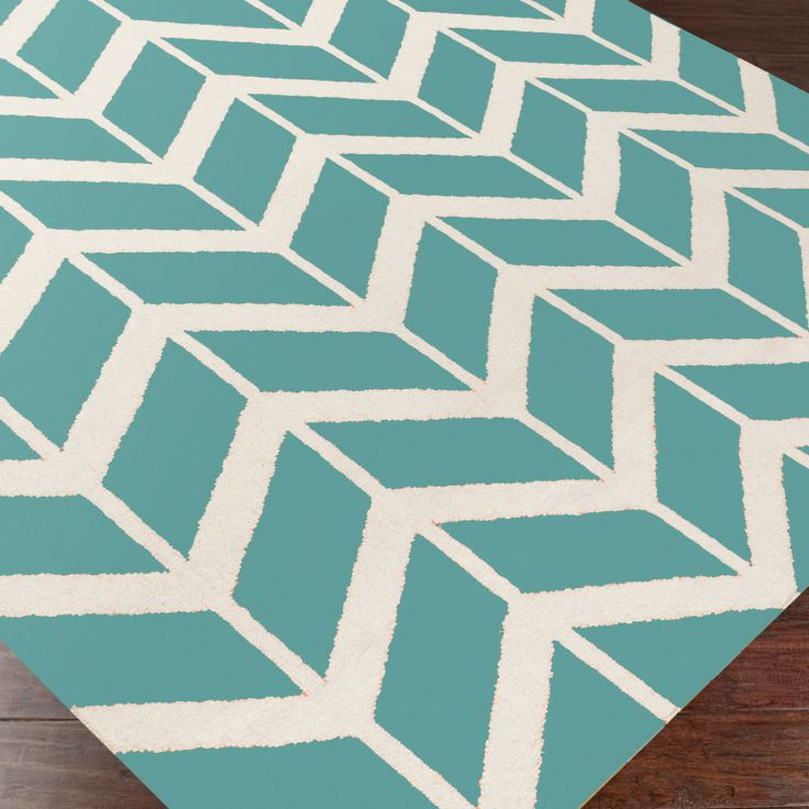 Teal Woven Rag Rug: 61 Best Geometric Rugs Images On Pinterest