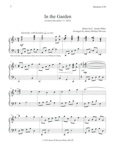 In The Garden Piano Hymn Arrangement Read Review Here Best Digital