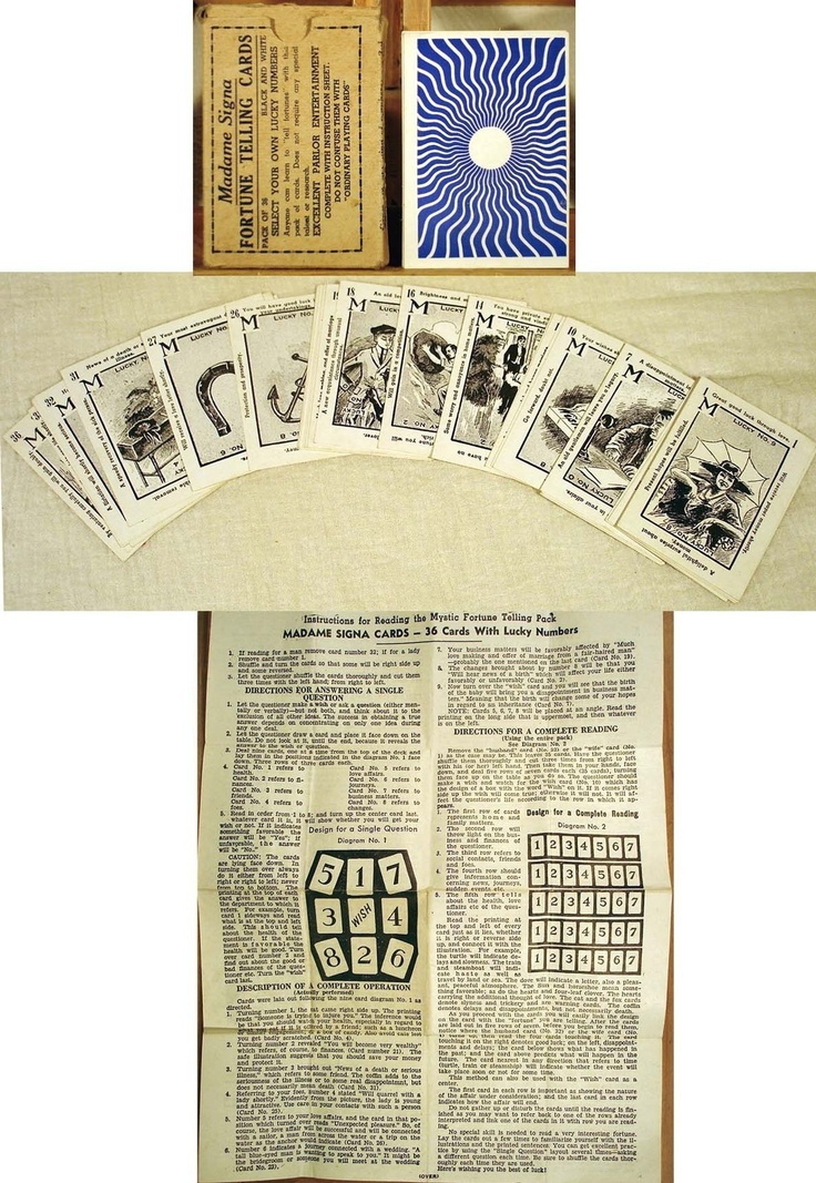 Madame Signa Fortune Telling Cards