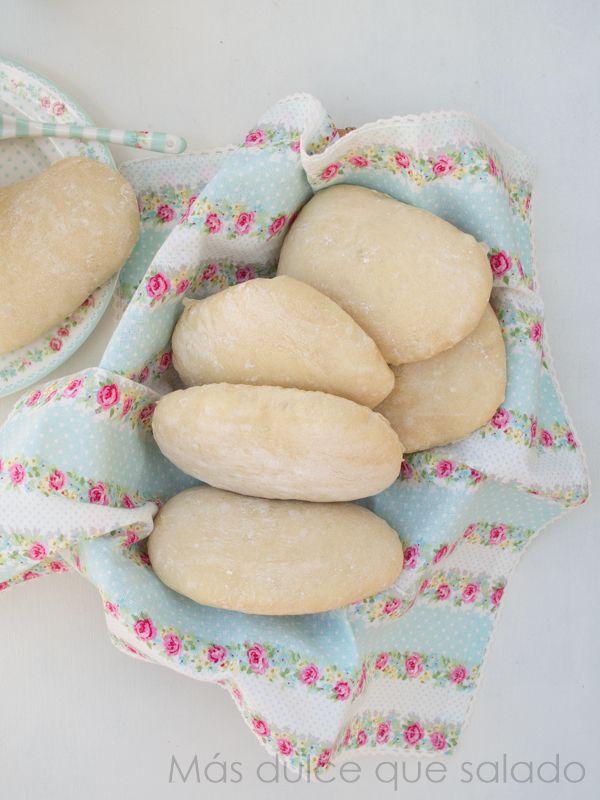 Más dulce que salado: Molletes {sin amasado}