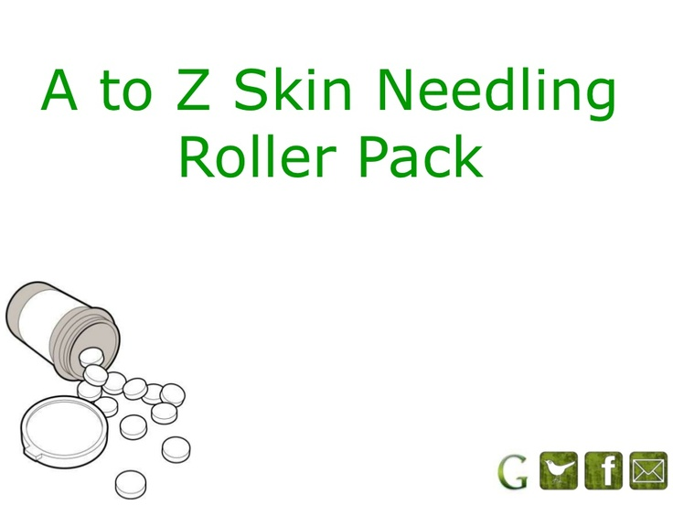 A to Z #Skin Needling #RollerPack