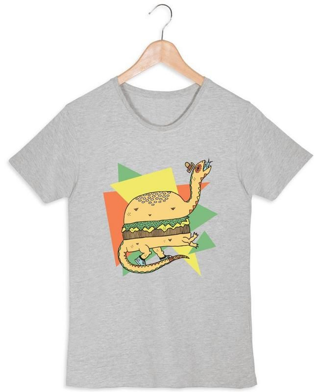 DinoBurger en Tee-shirt femme par Frenemy Life | JUNIQE