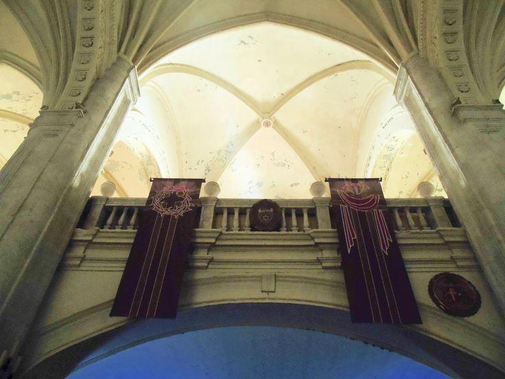 Coro. Parte central. Se construyó con balaustra en estilo neoclásico en el siglo XIX