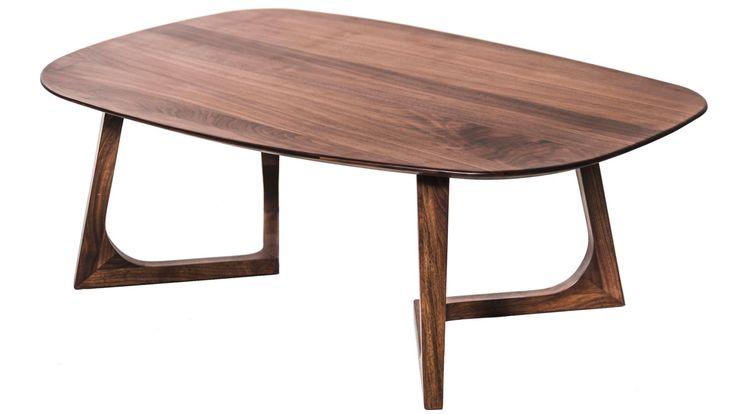 Rådjuret - Soffbord massiv valnöt