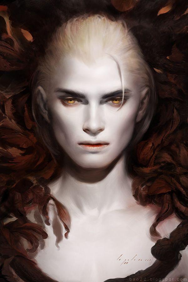 A world of subtle greys and vampires (Stunning Fantasy Digital Art by Bao Pham | Abduzeedo)