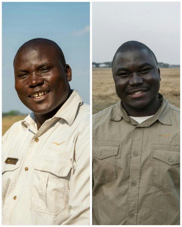 Meet these two safari legends of the Kafue - Idos and Newton Mulenga...