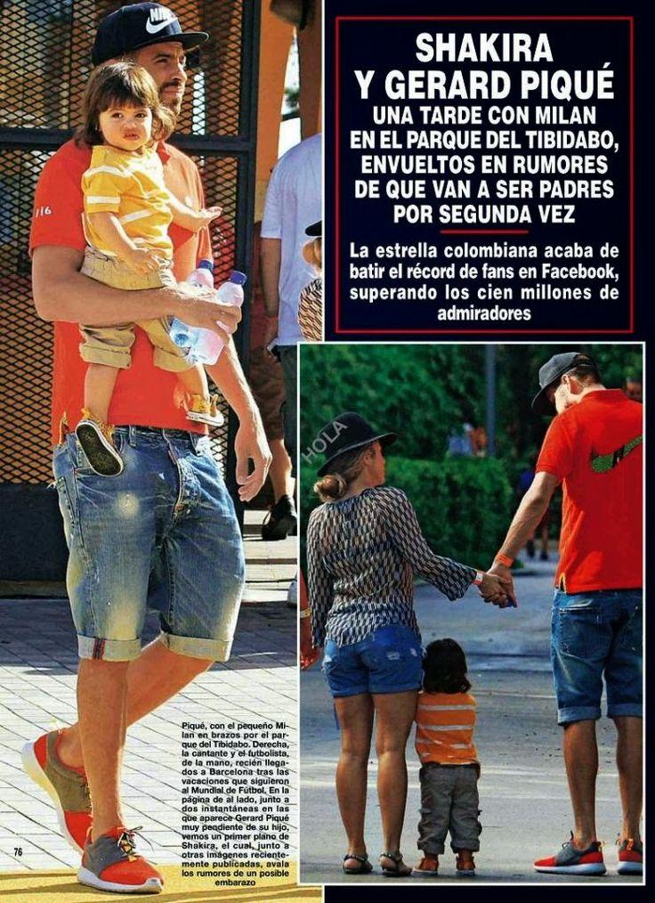 """LAS CADERAS TABASCO: Shakira en la revista """"¡HOLA!"""" de esta semana (Esp..."""