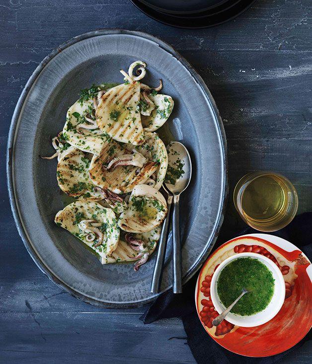 Cuttlefish recipes bbq