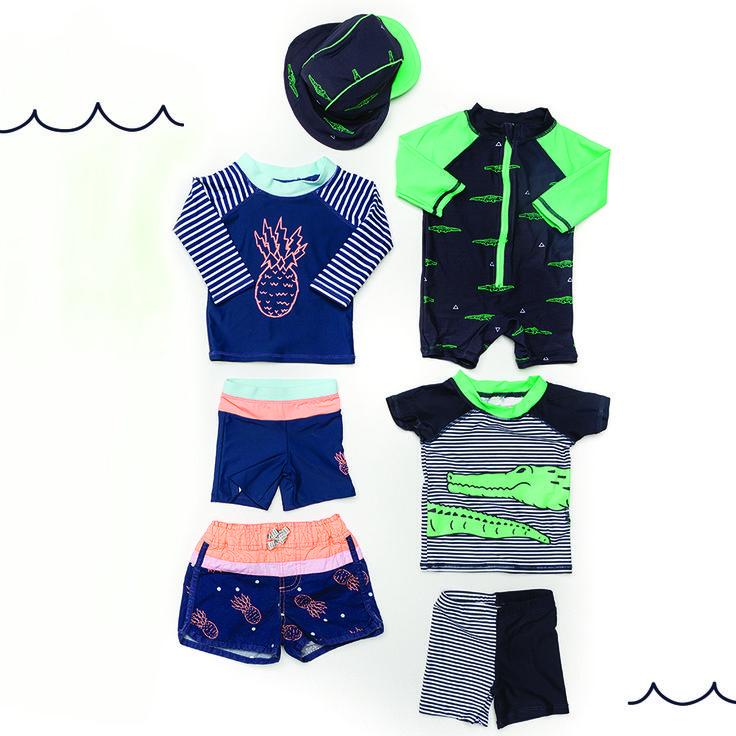 New SWIM is IN! Click the image to shop our new Swim Range! #cottononkids #newswimisin #cottononkidsswim