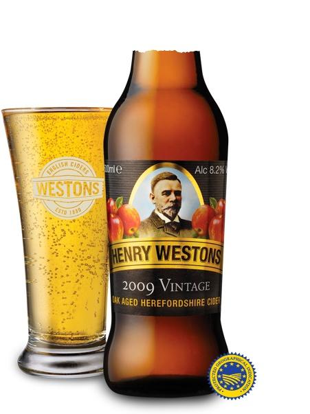Henry Westons Vintage Cider  Summer in a bottle !!