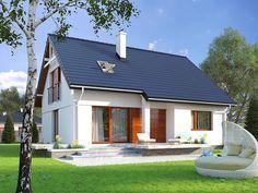 Projekt IBIS (136,57 m2)  to tradycyjny dom z użytkowym poddaszem w nowoczesnej odsłonie. Na parterze znajdują się 1 sypialnia oraz gabinet, zaś na poddaszu są dodatkowe cztery sypialnie. Pełna prezentacja projektu znajduje się na stronie: http://www.domywstylu.pl/projekt-domu-ibis.php. #ibis #projekty #domy #projekt #design #style #domywstylu #mtmstyl #projekty domów #projekty gotowe #wnętrza #insides #home #projekty z poddaszem