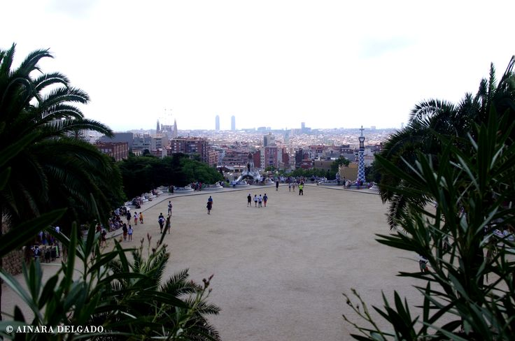 Plaza de la Naturaleza - Parque Güell - Barcelona 13-08-2015