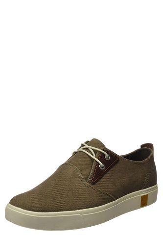 Zapatos Amherst Plain Toe Canvas Oxford para Hombre Timberland-Beige  TIMBERLAND e3bcab92be7