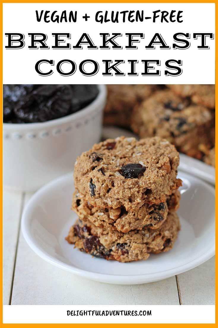Vegan Breakfast Cookies Recipe Breakfast Cookie Recipe Breakfast Cookies Vegan Brunch Recipes