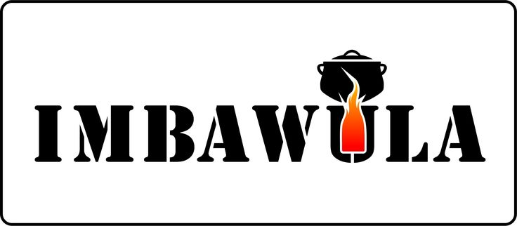 Logo for an affordable biomass gasifier stove made from paint tins for rural communities in South Africa...Imbawula is Zulu for a brazier