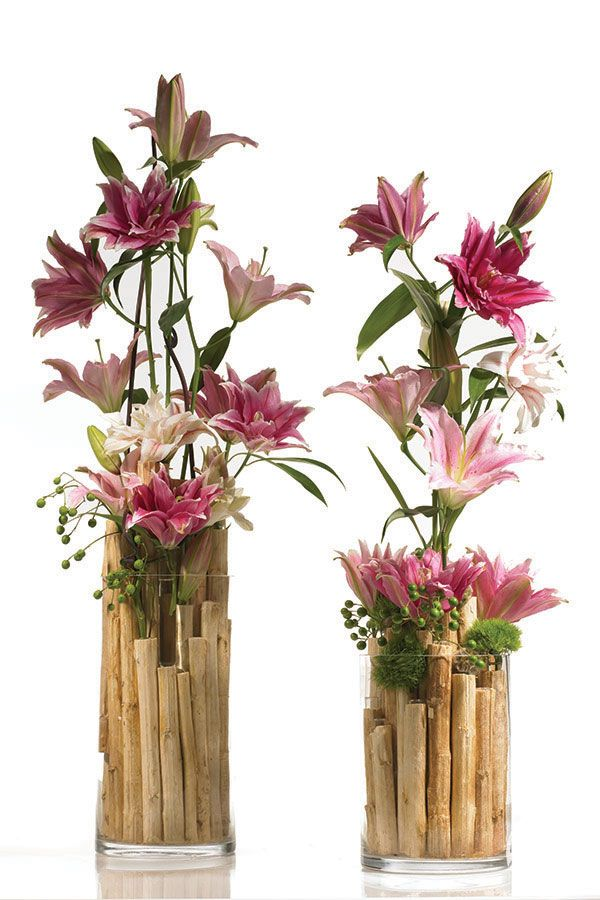 Beautiful Bamboo Centerpiece located on the Accent Decor Design Center.