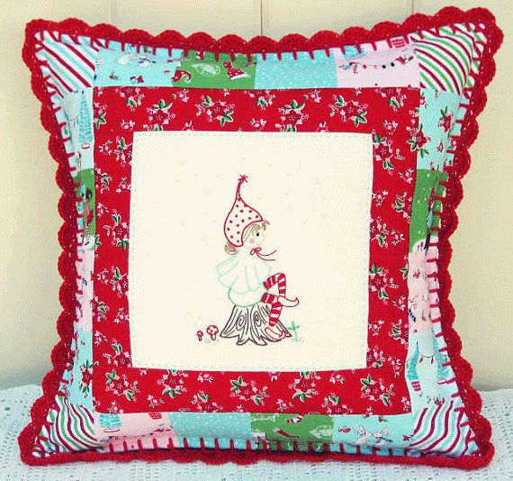 This pattern was created by me from my fabric line Pixie Noel for Riley Blake…