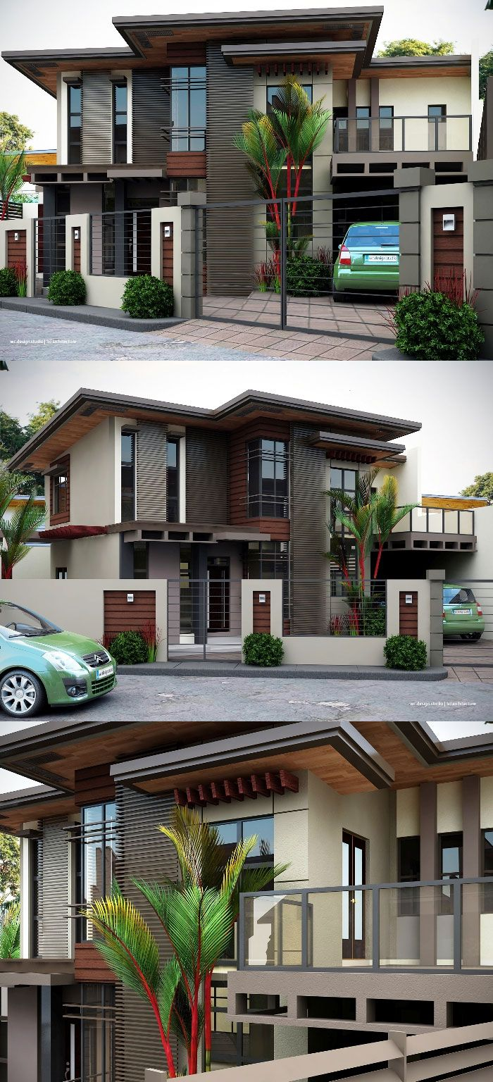 Two Storey House Inspiration Complete With Interior Designs In 2020 Philippines House Design Bungalow House Design 2 Storey House Design