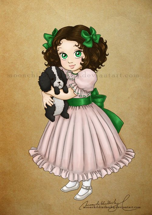 Little Emmie by moonchildinthesky.deviantart.com on @deviantART.  This drawling was made for one of the stories off of fanfiction.
