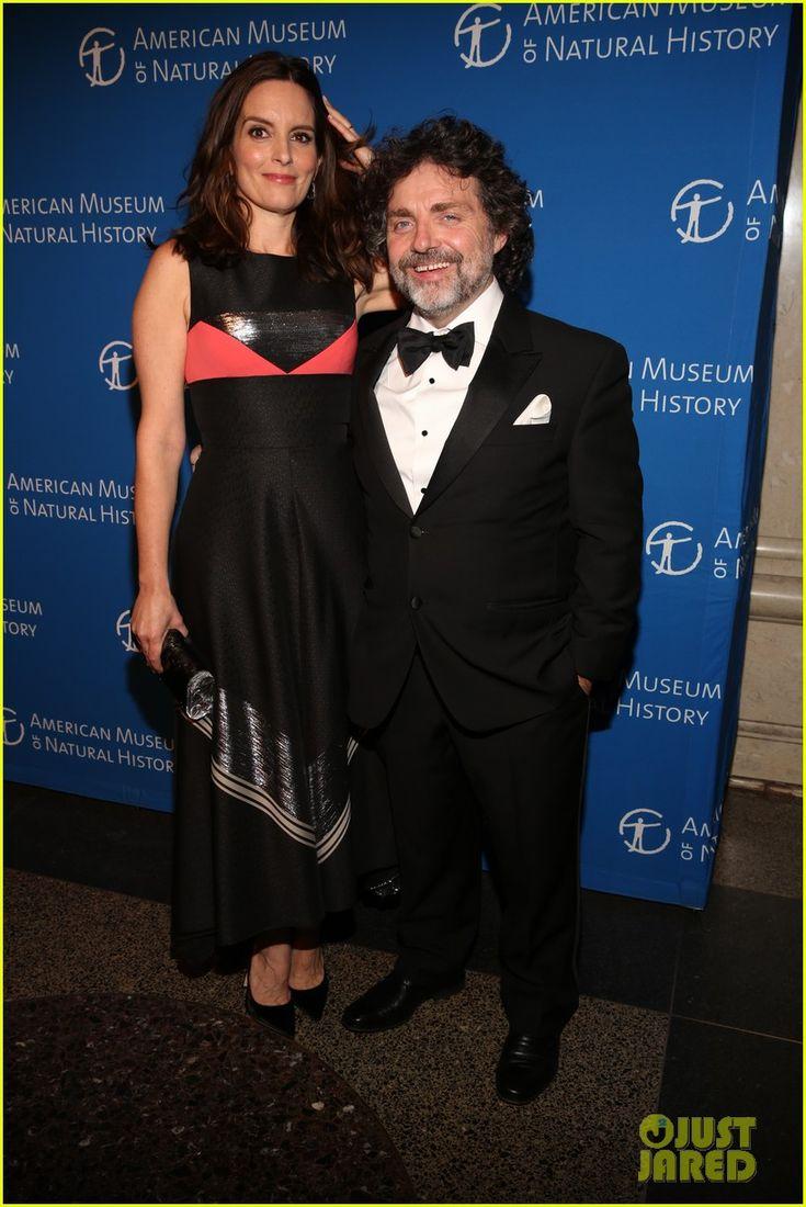 Tina Fey in a Bibhu Mohapatra dress & Jeff Richmond