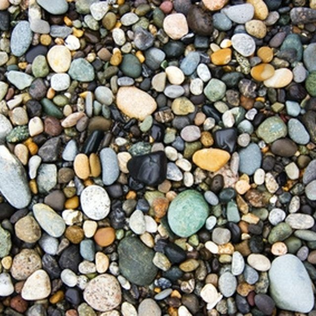 Polishing rocks gives them a decorative appearance.