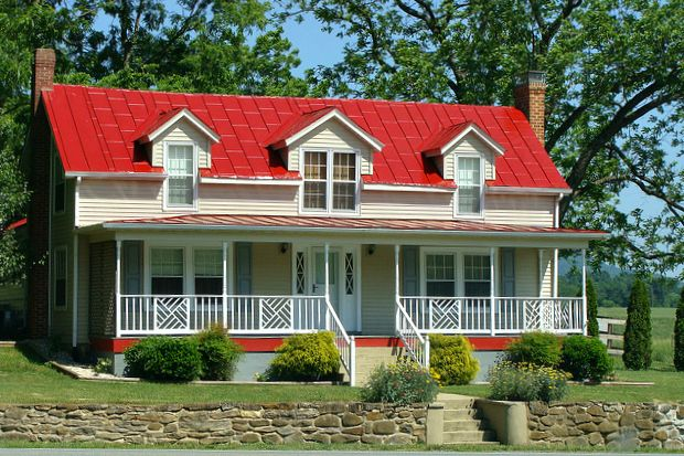 Red roof ideas