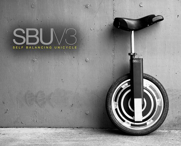 SBU V3 Self-Balancing Unicycle Concept by Focus Designs