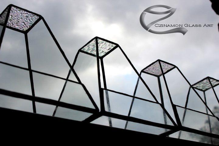 Iridescent glass to the sky new little glass florariums  #sky #nature #glass #czinamon #czinamonglass #