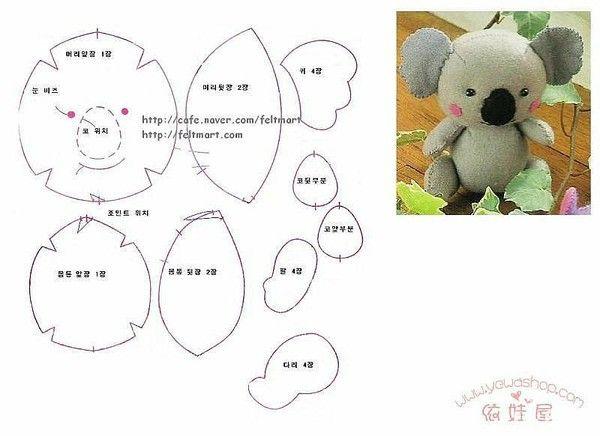 Non-woven Koala Korea Drawings