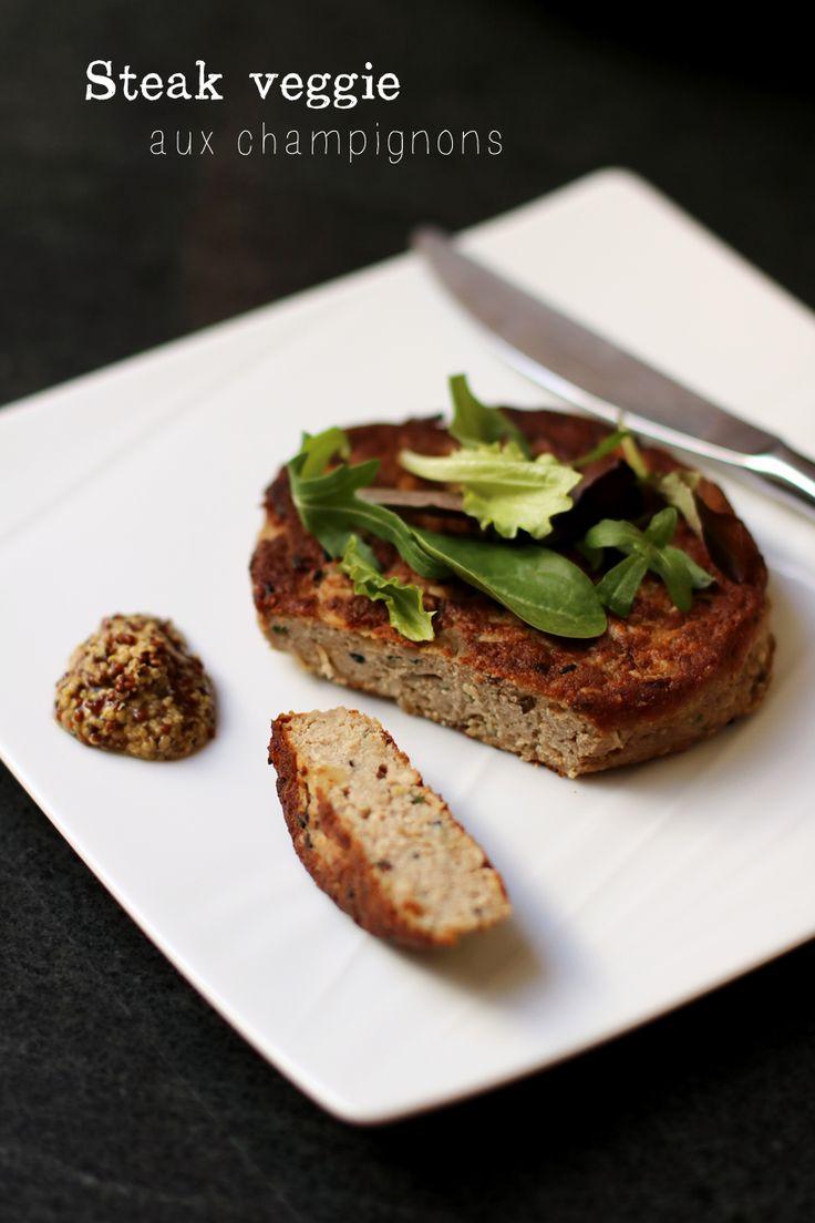 Recette steak veggie maison (toujours utiliser du tofu Bio)