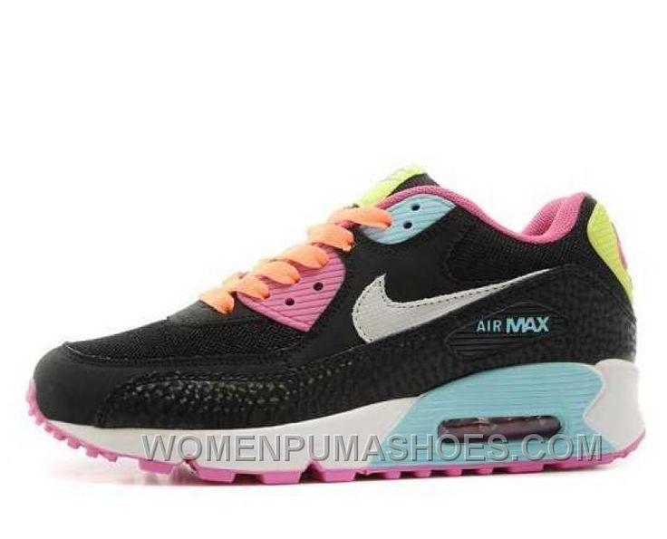 http://www.womenpumashoes.com/nike-air-max-90-womens-black-rose-for-sale-mwges.html NIKE AIR MAX 90 WOMENS BLACK ROSE FOR SALE MWGES Only $74.00 , Free Shipping!