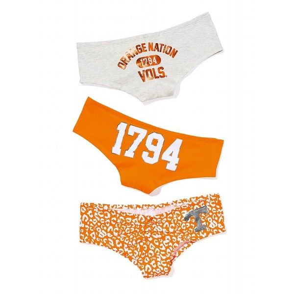 Victoria's Secret University Of Tennessee Ruched-Front Hipster Panty and other apparel, accessories and trends. Browse and shop 3 related looks.