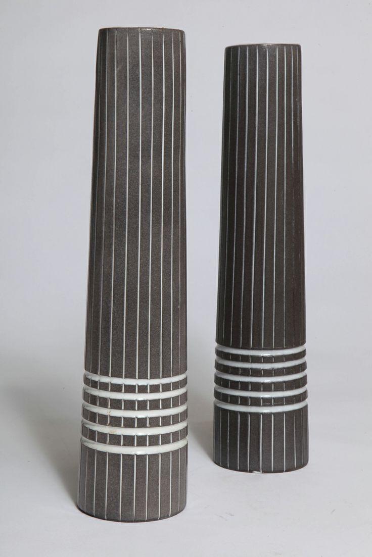 Ingrid Atterberg Vinga Pinstripe Vases image 2