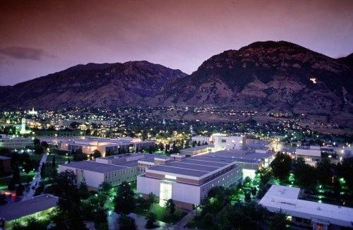 Brigham Young University - Provo, Utah! Hopefully my future school