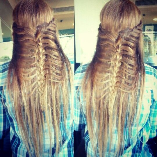#Lace #Braid #Hairstyle #created #by #me #myself #and #I