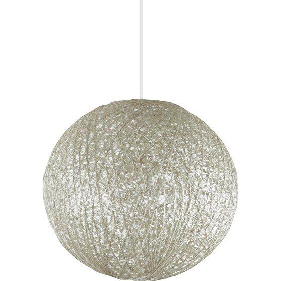 Top Light Závěsné svítidlo Abaca 40 bílé