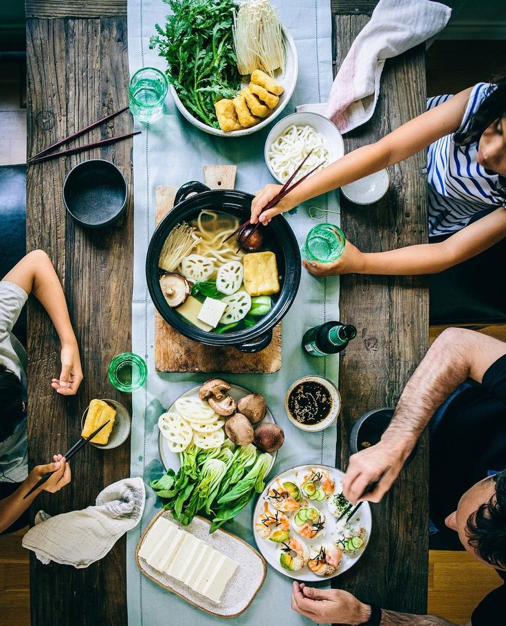 Shabu Shabu (Japanese Hot Pot) (veggie version) is the ultimate weekend meal for family and friends gatherings! Fun to prepare with the kids (involves mainly washing and chopping) and everyone gets to choose what they like to cook and eat. Relaxed and social! By @lumadeline