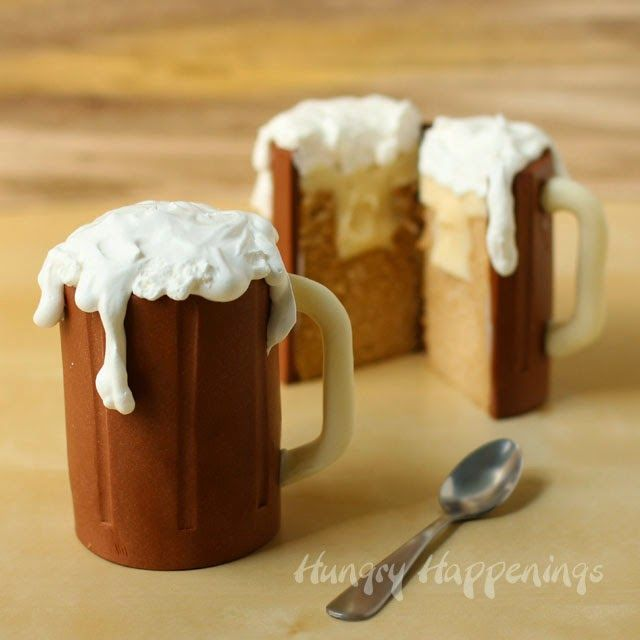 Surprise friends and family when you serve them what looks like a mug of rootbeer, but is...