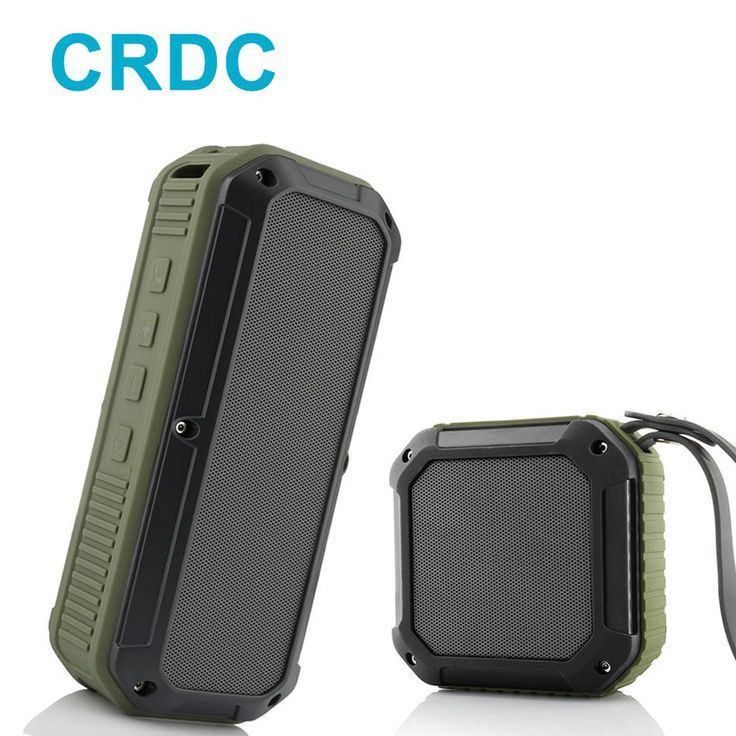 CRDC Bluetooth Speaker 10 Hour Playtime Mini Outdoor Water Resistant Wireless Stereo Speaker CSR Chip Bass for iPhone Samsung //Price: $15.76//     #gadgets