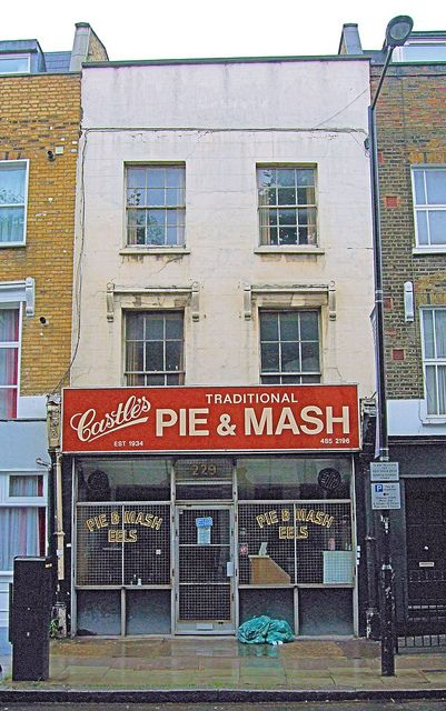 Castle's Pie & Mash, Camden Town, London, England