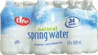 Life Brand natural spring water (24 x 450mL) - $2.44 EACH!