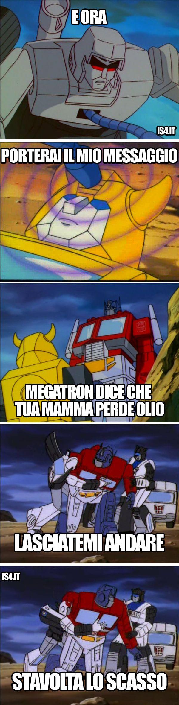 Transformers meme ita - Il messaggio