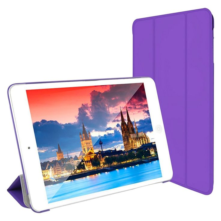 SuprJETech Gold 2 Serial Apple iPad Mini 12 and 3 Slim-Fit Folio Smart Case Cover with Auto Sleep/Wake Feature -