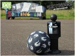 Striker Streetsoccer - elektroniczny sędzia Innowacyjny trening piłki nożnej!
