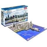 4D Chicago Cityscape Time Puzzle