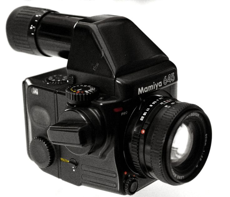 Mamiya 645 pro tl (w/ non metered prism)