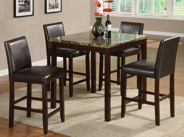 Anise 5 Piece Counter Height Table And 4 Chairs 39900 36 X