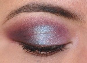 Shimmery pink with MAC's Sketch - with Sweet Libertine's Filibustier.